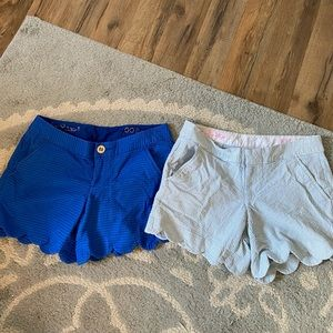 Lily Pulitzer Bundle of 2 Buttercup Shorts